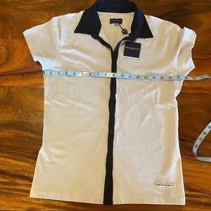 Burberry Golf Shirt sz med